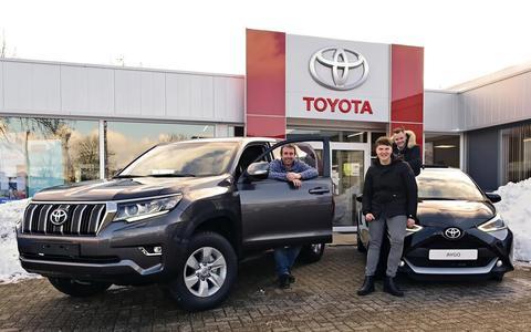 Van der Linde is al meer dan 45 jaar Toyota-dealer.