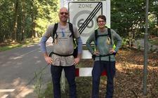 Wandelen van Ermelo naar Apeldoorn.