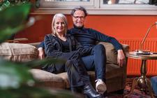 Rudolf de Graaf en Mary wonen antikraak in de voormalige HBS aan het Zuideinde.