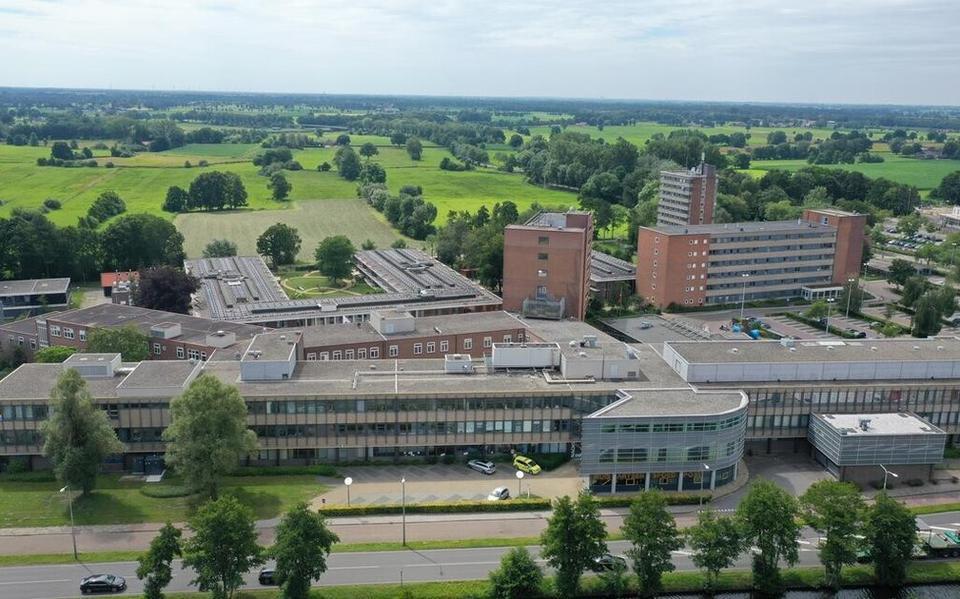 Het ziekenhuis in Meppel.