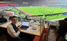 In Latijns-Amerika bezocht Jesper meer dan 50 voetbalstadions.