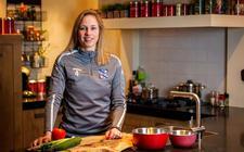 Elze Huls: 'Van koken word ik rustig.'