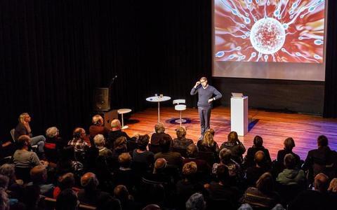 Wim Daniëls was in 2019 in de Meenthe voor het Schrijversfestival.