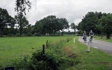 De Heerenweg in IJhorst.