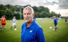 Joop van den Berg hoopt zijn lange periode als trainer van vv Kuinre op een bevredigende manier af te sluiten.