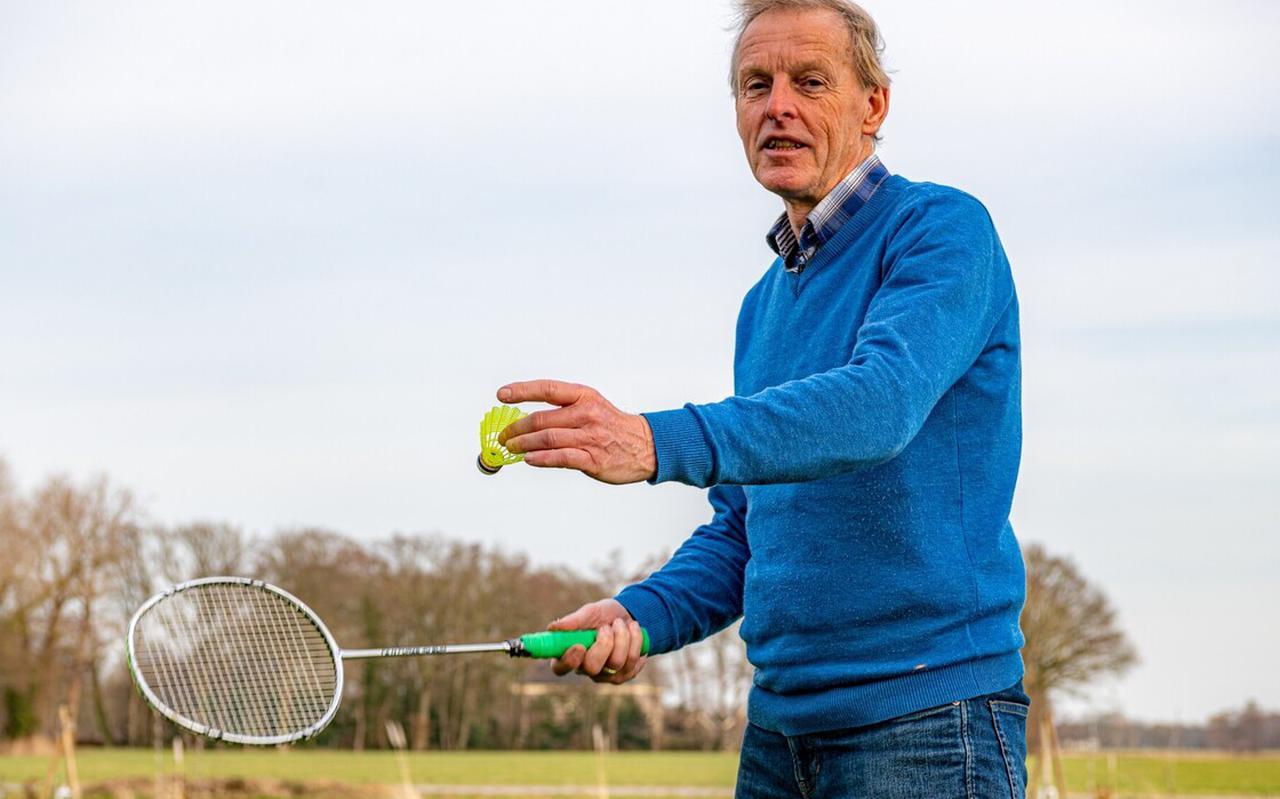 Hans Musch is sinds 2008 voorzitter van badmintonvereniging Meppeler Meppers.