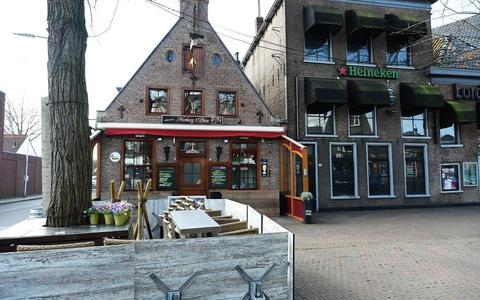 De Prinsengracht zou voor Herberg 't Plein van Jaap de Boer lopen.