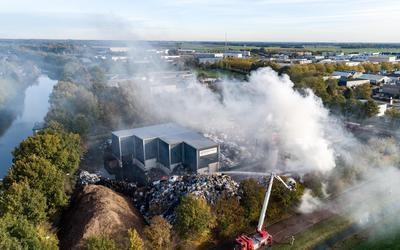De brand bij Talen.
