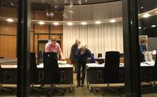 De stemmen in Westerveld worden geteld.