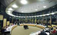 Raad van Westerveld in vergadering.