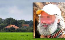 De boerderij in Ruinerwold en vader Gerrit Jan van D.