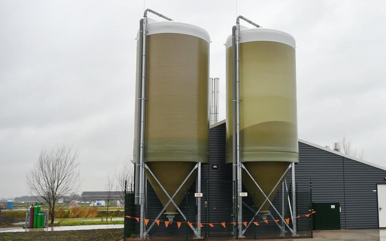Een biomassacentrale.
