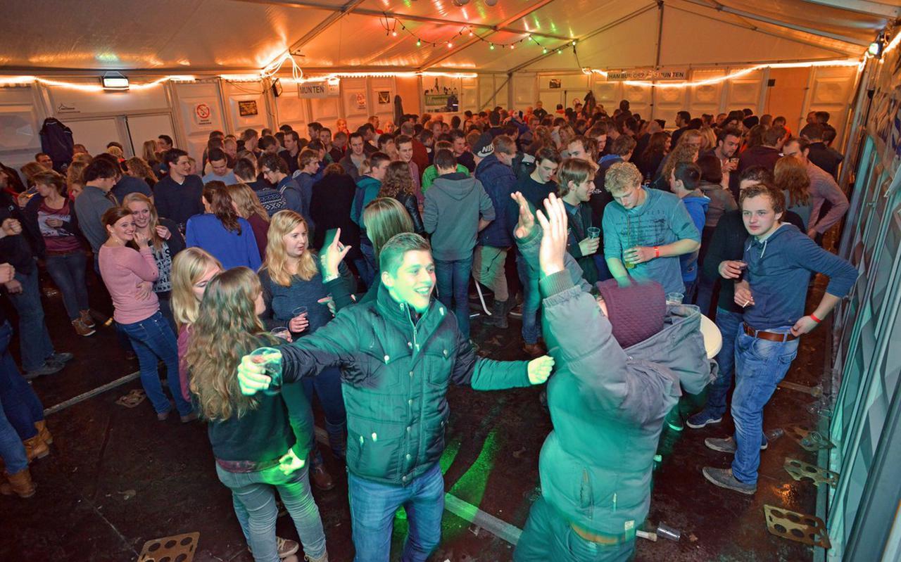 De nieuwjaarsborrel in Rouveen gaat dit jaar niet door.