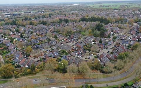 De Oosterboer is op te delen in vier buurten. De Verzetsbuurt (hier op de foto) is er daar één van.