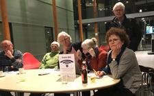 Gespannen gezichten bij Progressief Westerveld.