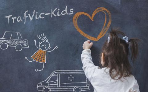 TrafVic-Kids doet wetenschappelijk onderzoek naar de gevolgen van een ongeluk voor een kind.