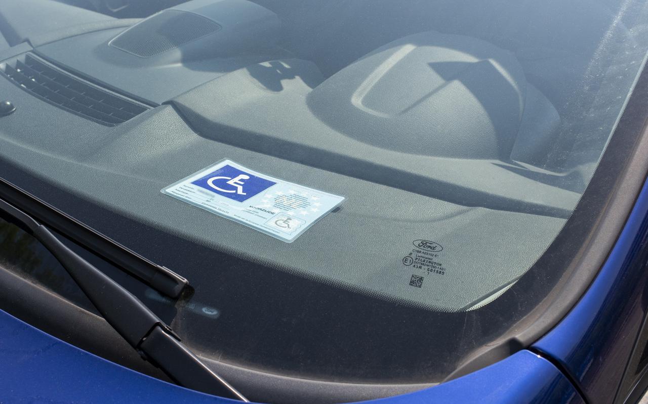 Het parkeren voor gehandicapten heeft een wisselend prijskaartje.