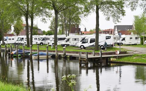 Oud Meppel hoopt onder meer bezoekers van de camperplaats te verleiden tot een stadswandeling.