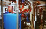 De ketels van de biomassacentrale in Nieuwveense Landen.