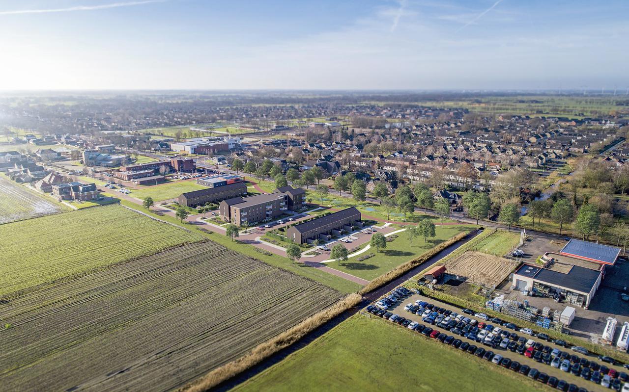 Impressie 42 woningen Oosterbouwlanden Nieuwleusen.