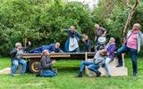 Wagenspel 'De wraak van Mina Koes' trekt twee weekenden door Zuidwest-Drenthe