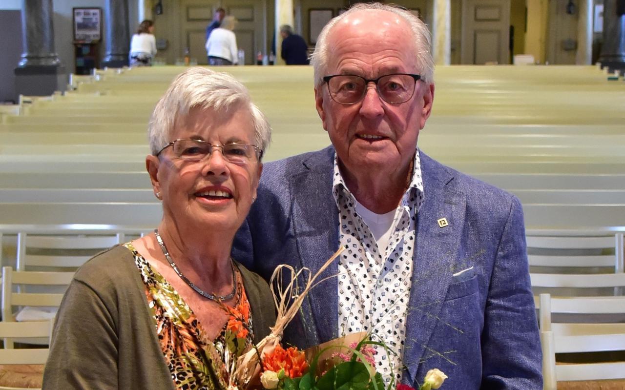 Jan en Annie van Tellingen hebben afscheid genomen als organisten van de Grote Kerk.