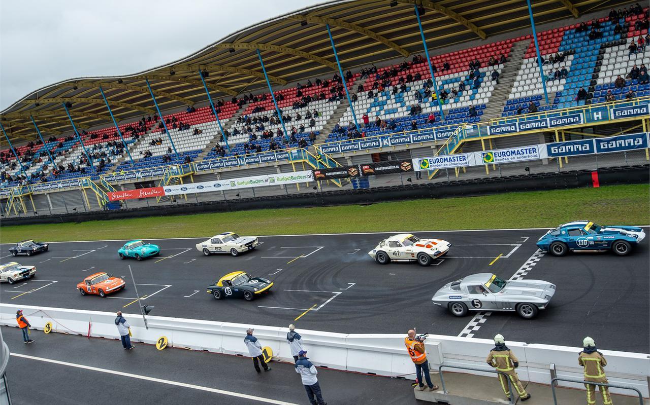 Actiefoto van de Racing Day van vorig jaar.