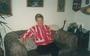 Hilly Bosscher in haar woonkamer in 1991. Foto: dossier Boudewijn Chabot