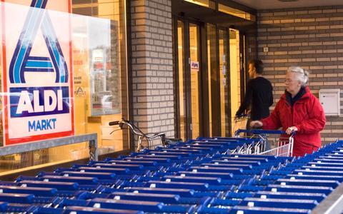 Aldi in winkelcentrum De Wielewaal sluit een dag de deuren.