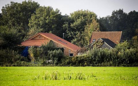 De schuilboerderij in Ruinerwold.