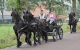 De deelnemers kunnen vier dagen routes van ongeveer 25 kilometerrijden door het Drents-Friese Wold.